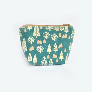 Coin Purse Wintry Forest, Cute, Little Forest