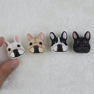 Cartoon Dog Brooch (Pin / Magnet) | Hand | Animals | Accessories | Ornaments |