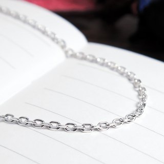 Matching chain - 925 sterling silver with chain square corner chain in the width of 18 ~ 32 inches custom length