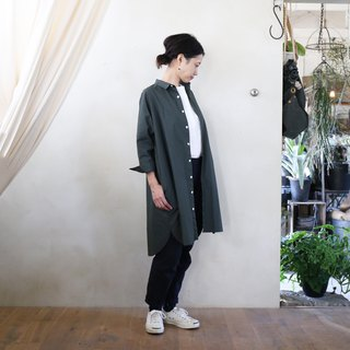 Parachute cross long shirt KH · unisex size F