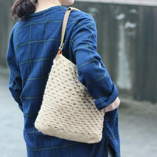 Back with two hemp bag