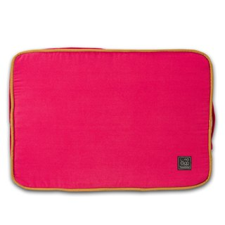 Lifeapp sleeping pad replacement cloth S_W65xD45xH5cm (red and blue) does not contain sleeping mats
