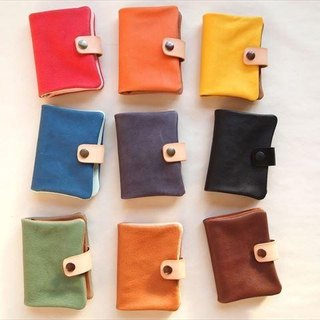 B7 [classic colors] pig leather soft notebook cover [MTO] Leather 1615