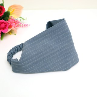 Vintage Plain Gray Wide Hairband*SK*