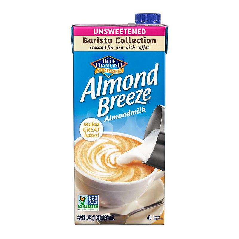 BLUE DIAMOND Almond Breeze 無加糖杏仁飲 咖啡師
