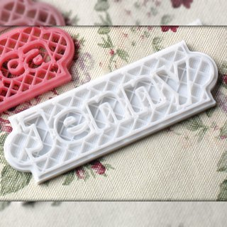 Personalized Name Plate (Semi See-through style) Door Sign/Wedding Place Card