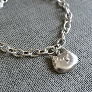 Wearing Cat - Sterling Silver Bracelet