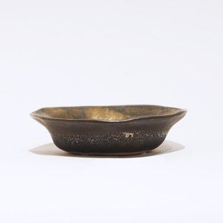 Hand made bronze glaze