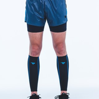 【SUPERACE】MEN'S T-Hot 2-in-1 RUNNING SHORT / GREY