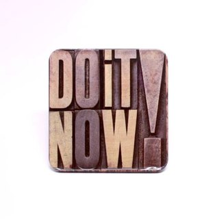 DO IT NOW ! [Taiwan Impression Square Coaster]
