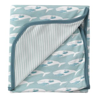 100% organic cotton baby whale baby towel