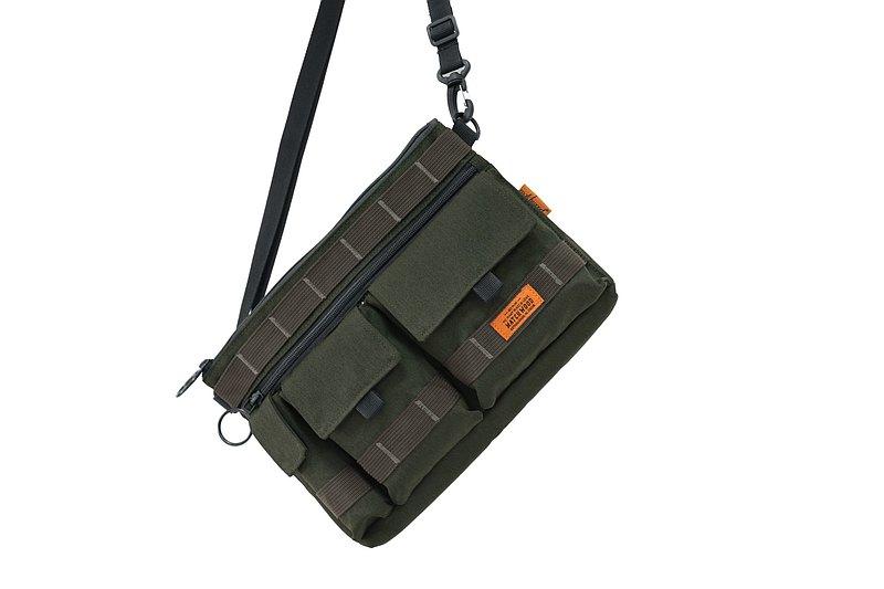 Matchwood x Culture 聯名三口袋機能小包 軍黑/軍綠