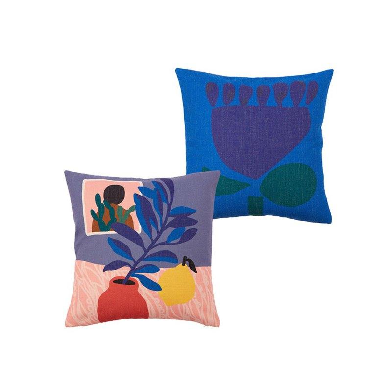 【草稿/ciaogao】原創設計 ins馬蒂斯風格北歐風抱枕套