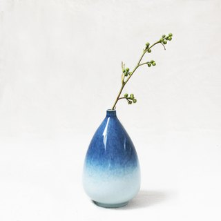 Galaxy Glaze Vase - Oval