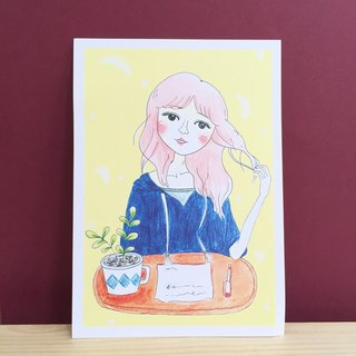 ✦Pista Gallery Illustration ✦ Afternoon Tea Time