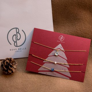Christmas limited jewelry set-pinkoi limited gem group