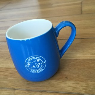 [Apartment] dogs can design duo Cup - Corgi (blue)