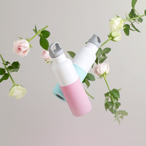 US HYDY fashion insulation bottle [a variety of color combinations] stainless steel water bottle - 590ml