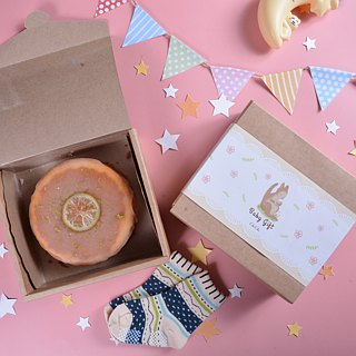 ChuChu_ burning fruit _ wedding gift box / Mi moon gift box / with hand / afternoon tea