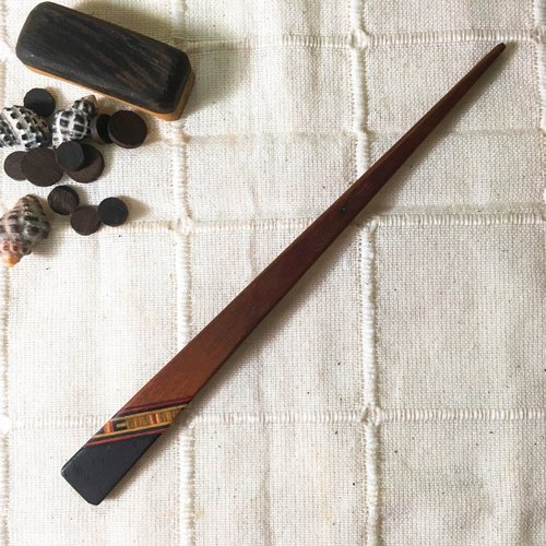 Handmade national wind wooden hairpin - rosewood