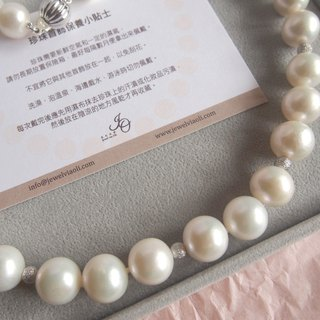 Classic Round Pearl Necklace | Perfect gift for Wedding, Bride and Bridesmaid