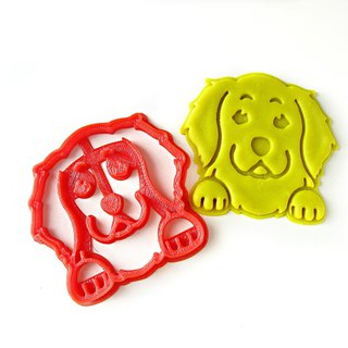 Akita Inu / Shiba Inu Cute Smiley Dog Cookie Cutter, Pet Gift, Dog Owner Gift