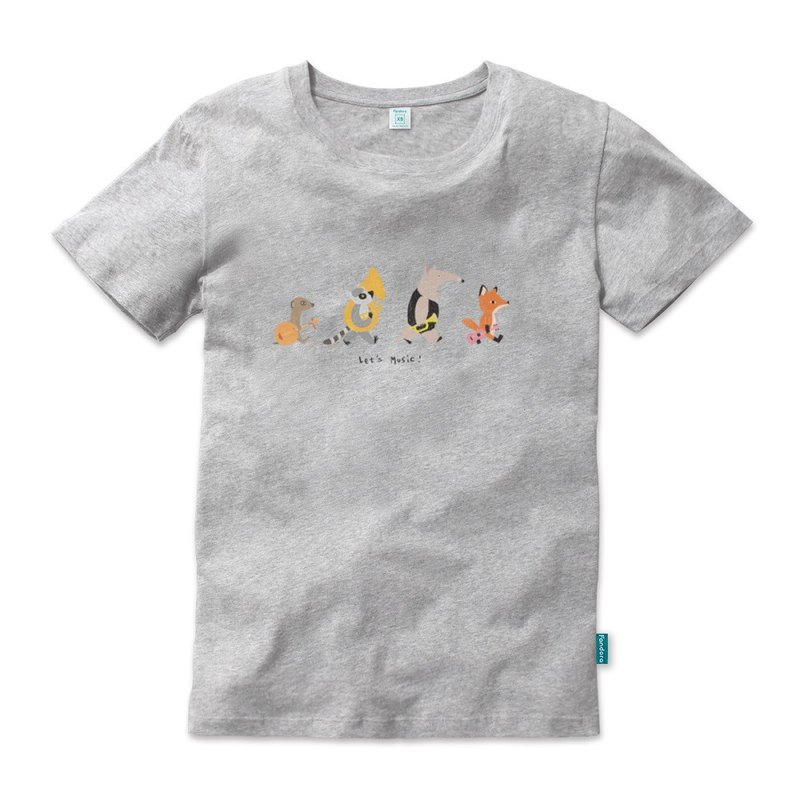 Limited T-Shirt [Lets Music Ma Gray Neutral Edition] 2017 World Music Festival @ Taiwan