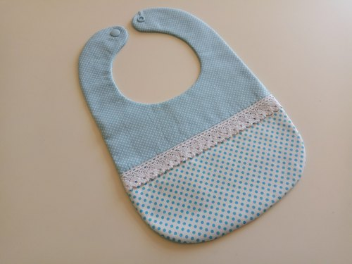 Blue part of the little money gift baby baby pocket pocket pieces of pocket bib pocket only one spot