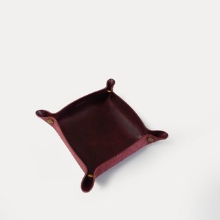 Alfred Valet Tray in Wine, Small