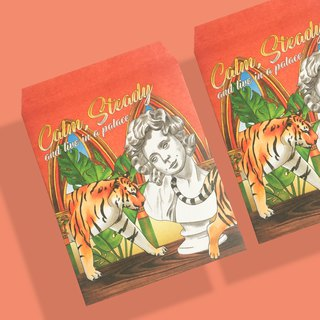 Gypsum and Gentle Tiger - Packing Small Paper Bags