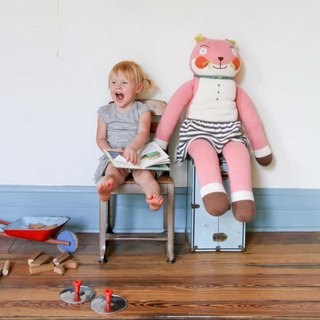 American Blabla Kids Cotton Knit Doll (Giant) Susette Fox 1-05-097 (limited availability)