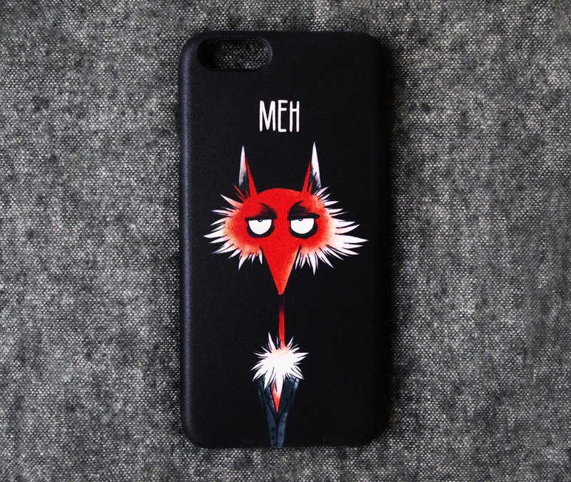 """Meh"" Fox iPhone Casing"