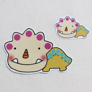Waterproof sticker (large)_Little Dinosaur 10