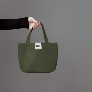 Simple Plain Canvas / Tote / Lunch Bag / Army Green