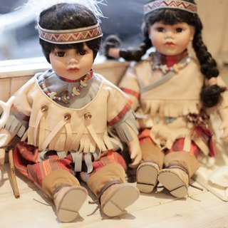 [Germany] good day fetish hand-painted ceramic doll Indiana (one pair)