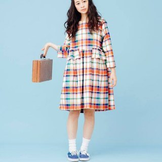 YML narrow version Plaid Dress
