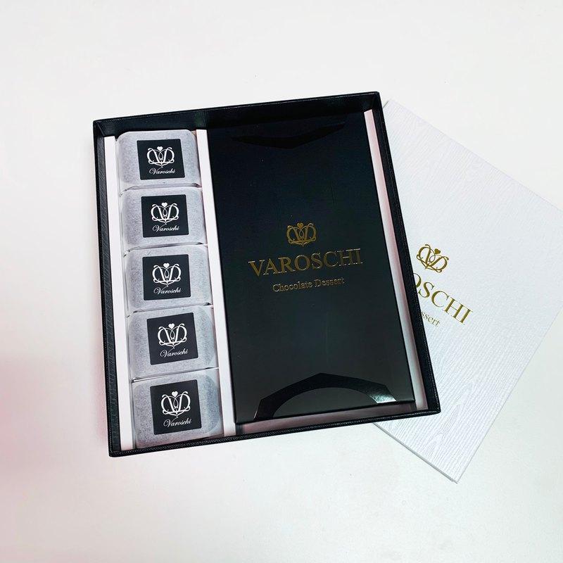 【精緻禮盒】可可巧酥+生巧克力 禮盒