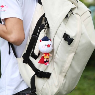 Star Superman Art Bag Rabbit Plush / Key Chains decorative lining
