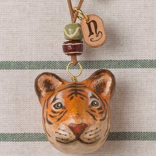 Tiger pendant necklace / animal items 錬