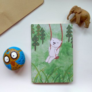 Small notebook ∣ in the forest