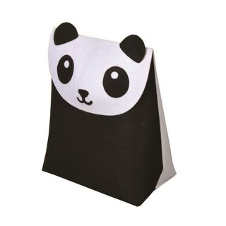 KOMPIS | Nordic Wind Cute Animal Shaping Bag - Panda / Toy Clothes Diaper Storage