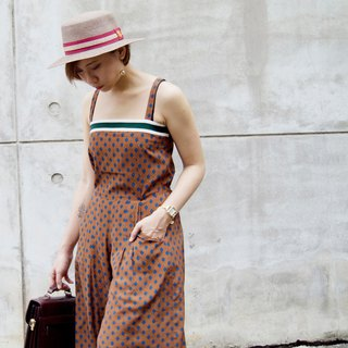 Flat Sling Jumpsuit // Earth Brown