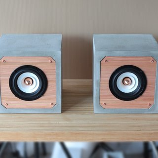 4吋 full range passive square cement speaker