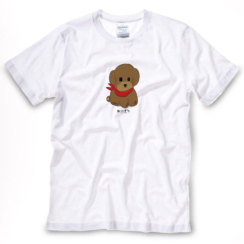 小飯糰 中性T恤  貴賓T 紅貴賓短T
