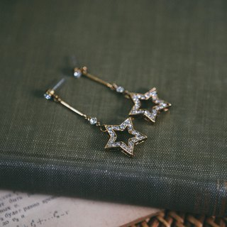 COR-DATE-Star Swaying Earrings