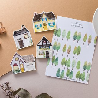 Kairuo Forest Town / Small House II Sticker Pack