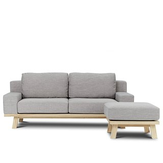 Bergen AJ2 │ │ │ L-shaped sofa graphite gray