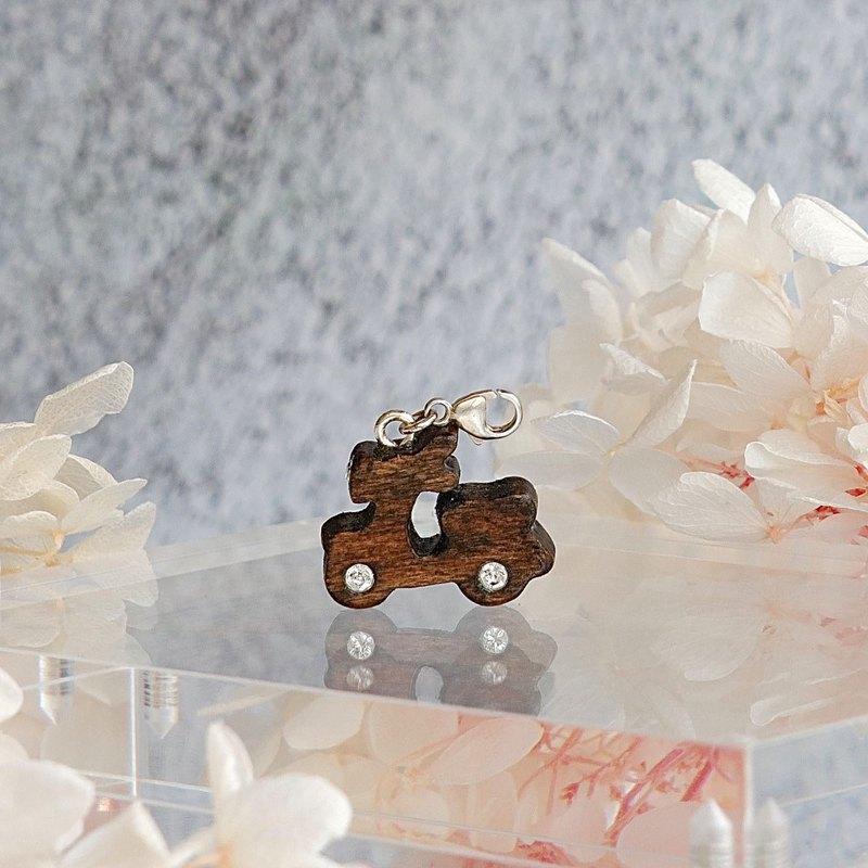 手工木製吊飾  電單車 吊飾  禮物訂製 聖誕禮物