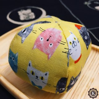 hand-sewn cat toys