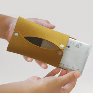 Pocket Tissue Case Mustard